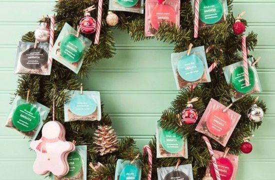 Pinterest Projects: Tea Wreath