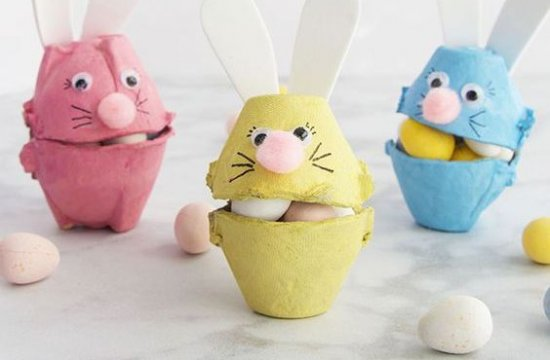 10 Easter & Spring Crafts for Kids